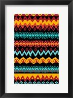 Framed Navajo Mission Teal