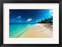 Framed Cayman Islands Beach