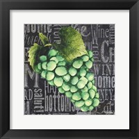 Framed Wine Grapes II