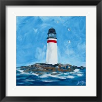 Framed Lighthouses I