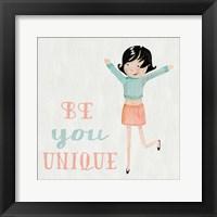 Be Girl II Framed Print