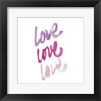 Framed Love Times 3
