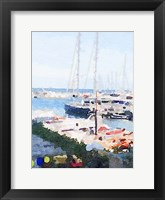 Framed Watercolor Naples