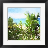 Framed Watercolor Vero Beach