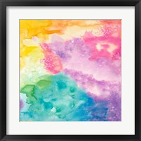 Framed Rainbow Watercolor