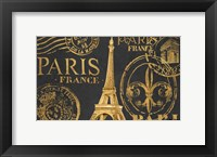 Framed Letters from Paris II