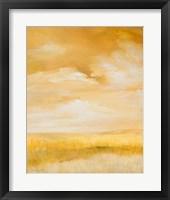 Framed Above Golden Plains I