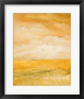 Framed Above Golden Plains II
