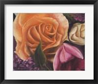Framed Among the Roses
