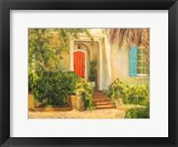 Framed Front Garden Tuscan Dreams I