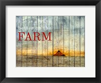 Framed On the Farm I