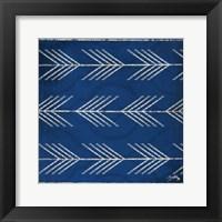 Framed Blue Arrows