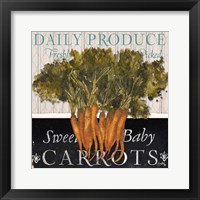 Framed Vegetable Farm Fresh II