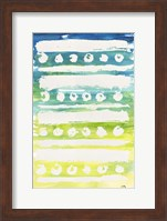 Framed Watercolor Pattern IV
