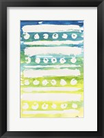 Watercolor Pattern IV Framed Print