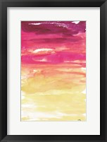 Framed Watercolor Paper I