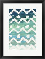 Watercolor Pattern V Framed Print