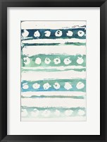 Watercolor Pattern VI Framed Print