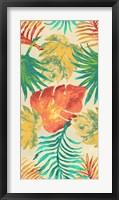 Framed Havana Palm Pattern