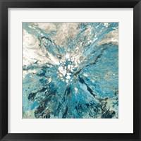 Framed Teal Sea