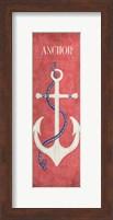 Framed Oars & Anchors I