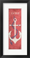 Framed Oars & Anchors I