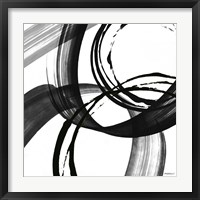 Framed Black and White Pop II