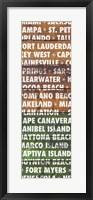 Framed Florida Wood Type
