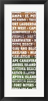 Framed Florida Wood Type