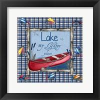 Framed On the Lake I