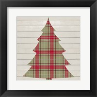 Framed Plaid Christmas II