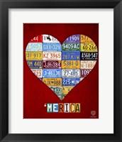 Framed 'Merica