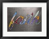 Framed Faith Sign Metal