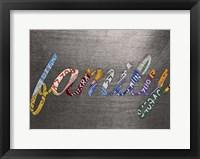 Framed Family Sign Metal