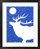 Framed White Elk
