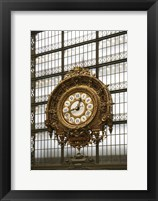 Framed Paris Clock 1