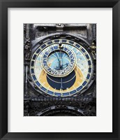 Framed Prague Clock 1