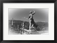 Framed Statues BW