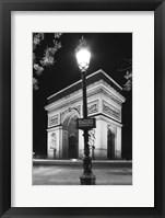 Framed Arch 1 BW