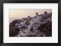 Framed Santorini 1