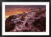 Framed Santorini 2