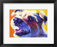 Framed Wire Hair Terrier - Penny