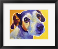 Framed Jack Russell - Mudgee