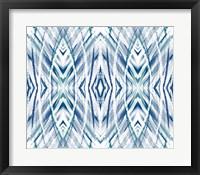 Framed Blue Streaks II