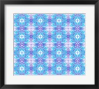 Framed Purple and Blue Ethereal