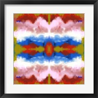 Framed Southwestern Abstract
