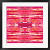 Framed Striped Raspberries
