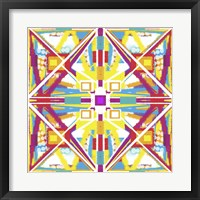 Framed Abstract Cube