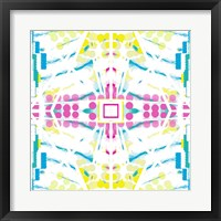 Framed Abstract with white