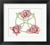 Framed Tri-Rose